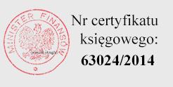 Numer certyfikatu księgowego